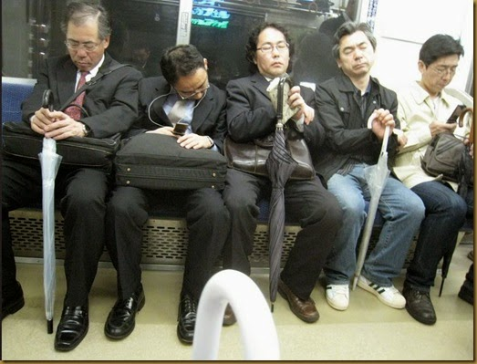 sleeping salarymen