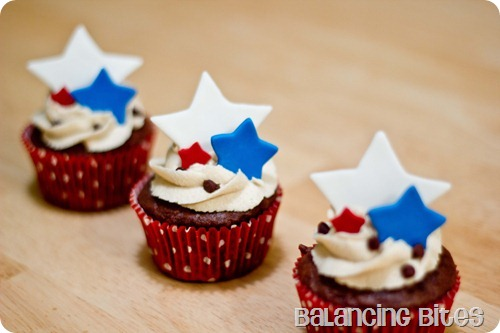 4th July Cupcakes B