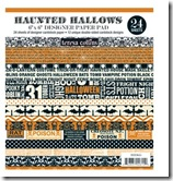 Theresa Collins Haunted Hallow 6 x 6 Pad