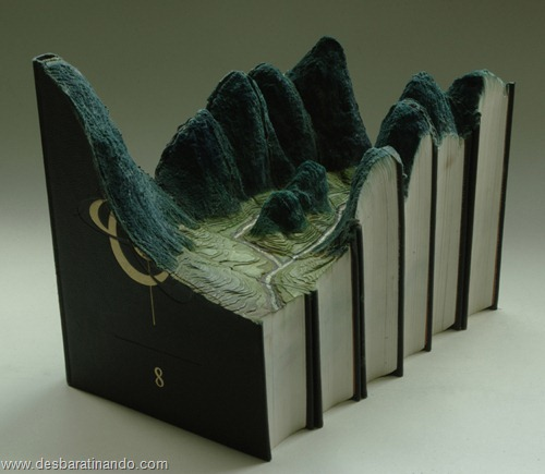livros montanhas entalhados esculpidos desbaratinando (3)