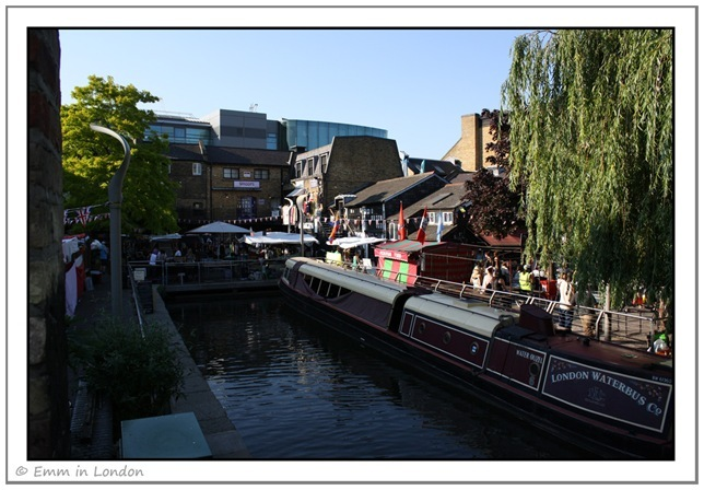 Barge at Camden Lock