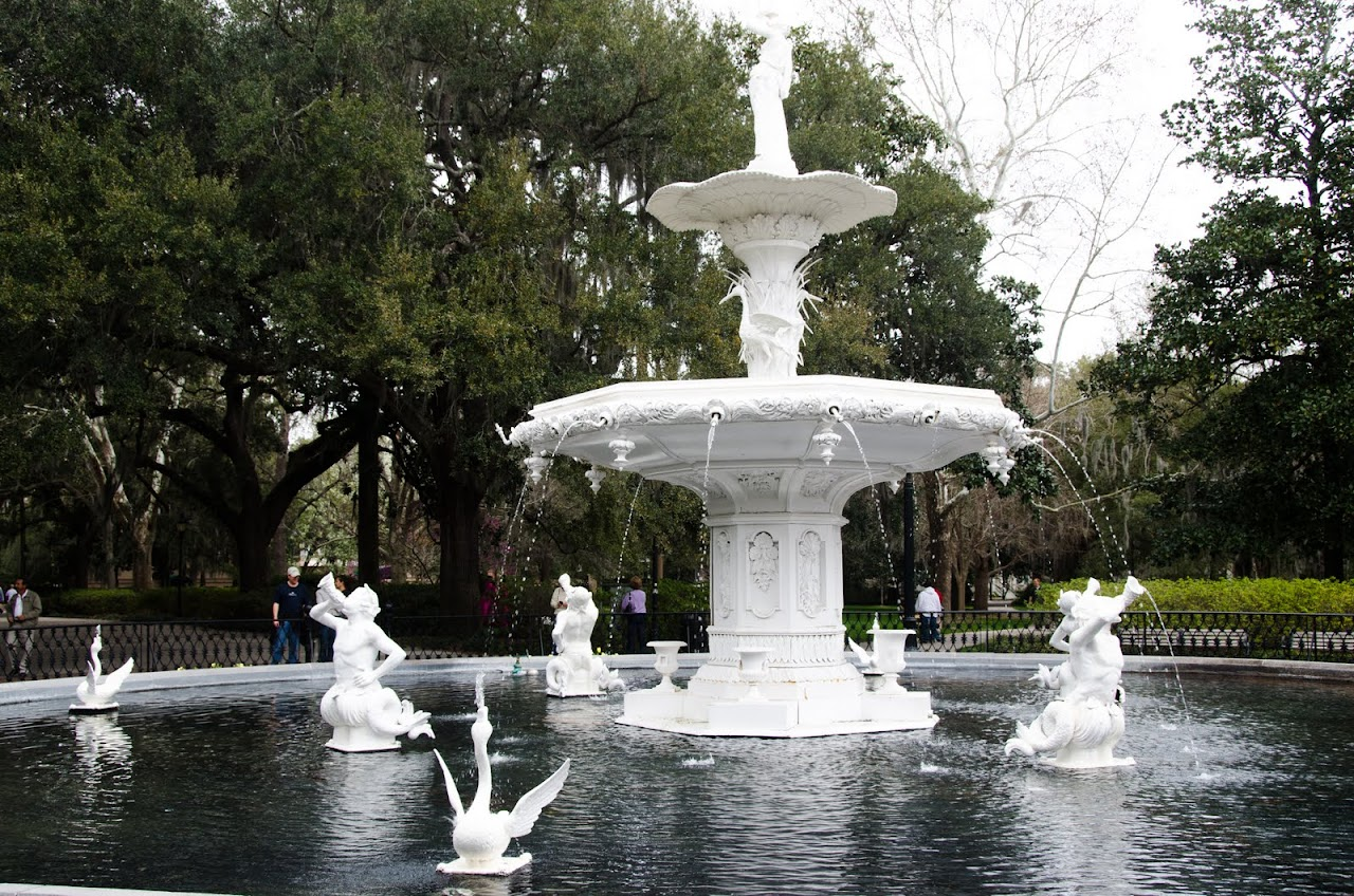 Fountain at Forsyth Park