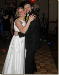 Roger and Katie on the dance floor