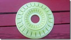 green metallic medallion 5