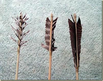 three-stone-tool-arrows-fletching