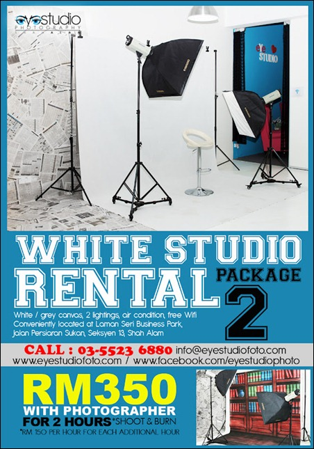 white studio rental 2