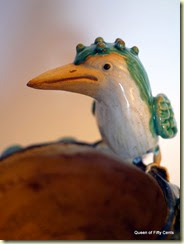 ceramic kingfisher