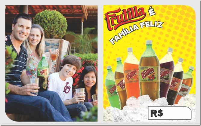 cartaz publicitário familia feliz