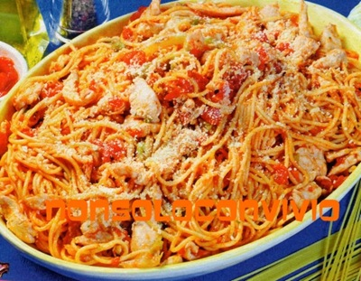 spaghetti sugo pol ver