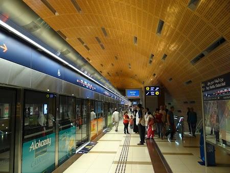 Statie metro - Dubai