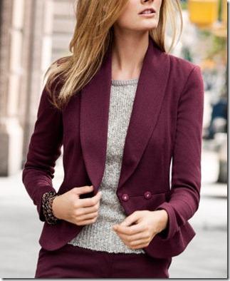 HMburgundy jacket