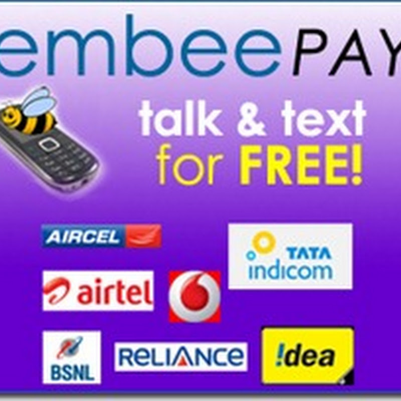 free mobile recharge by embeepay application through facebook