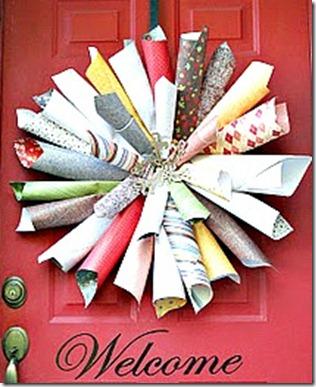 paper pizazz wreath 1
