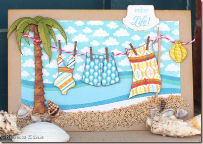 te beach clothesline july