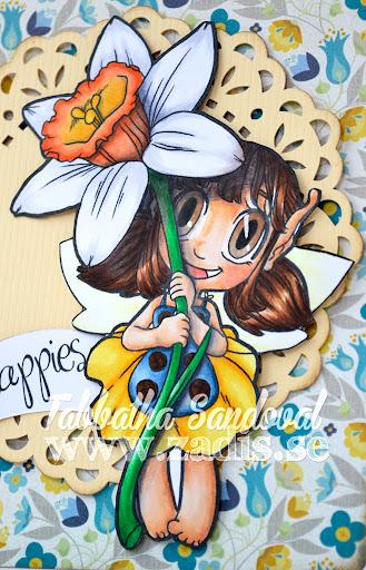 Daffodil Fairy Happies Close
