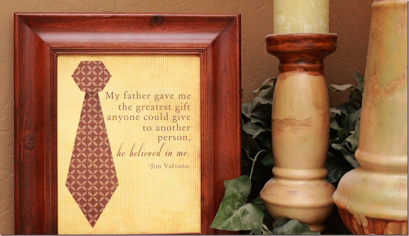 Image. Happy Father's Day. A FATHER'S GIFT! HE Believed In ME!