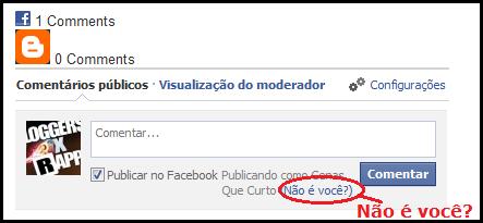Identifica o Perfil do Facebook