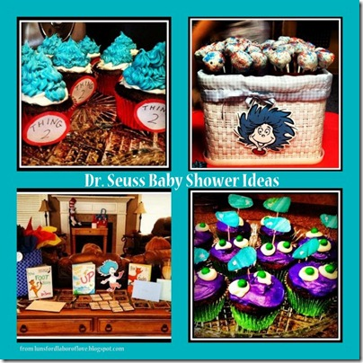Dr. Seuss Baby Shower ideas Lunsford