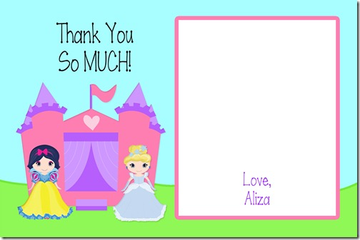 Aliza's Thank You Image size 4 By 6