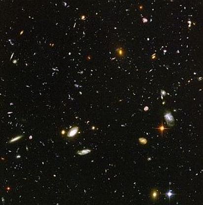 estrela no centro da imagem é a mais distante já vista em nossa galáxia