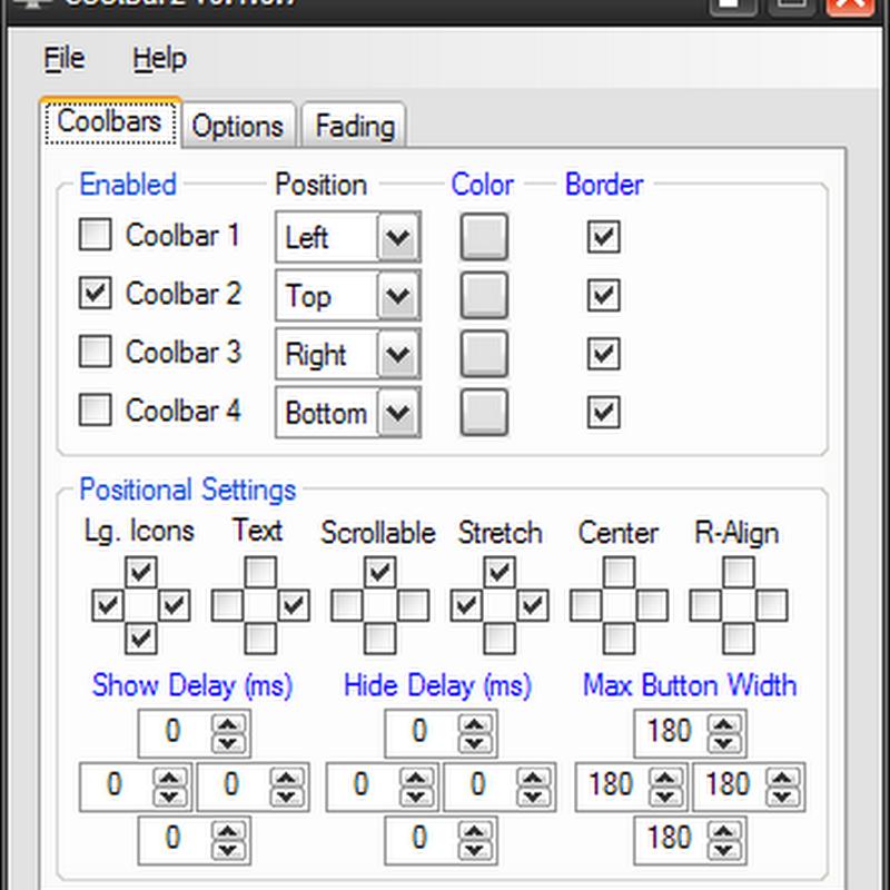 Coolbarz, Software Penambah Toolbar Desktop