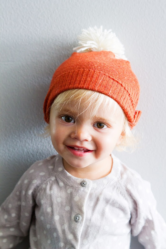 How to make a beanie from an old sweater, DIY hat from sweater, toddler hat