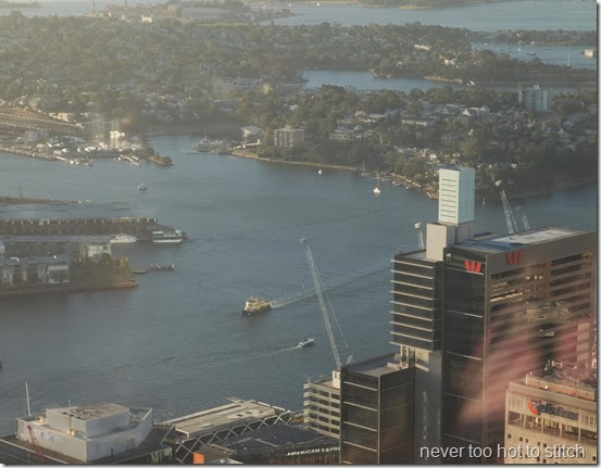 view over Darling Harbour entrance