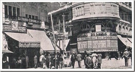 Avenida María Cristina-San Vicente. Edificio del Porquero1932