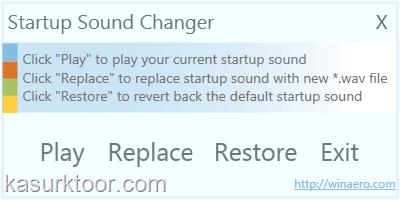 Mengganti Suara Startup Windows 7