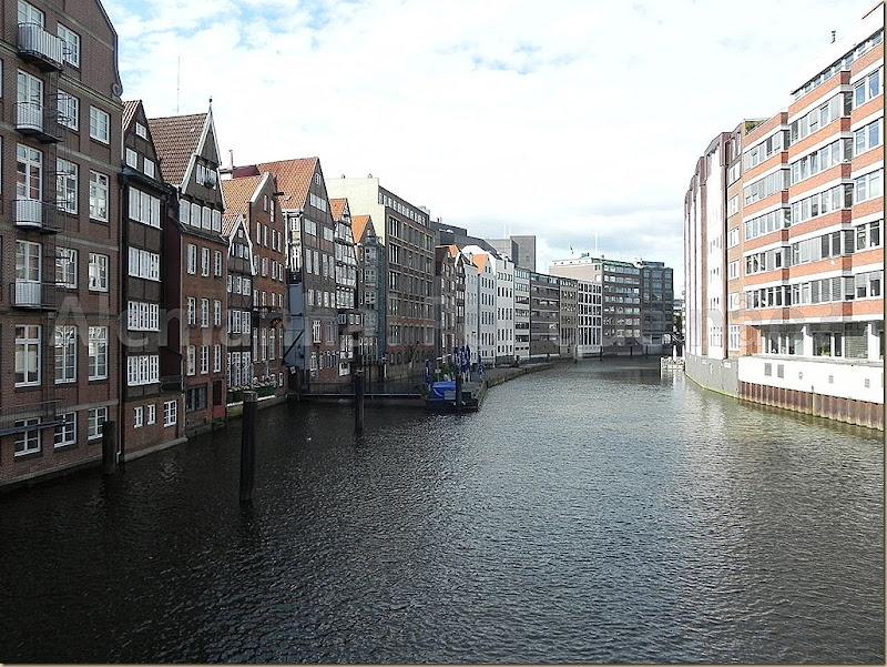 Os canais de Hamburgo