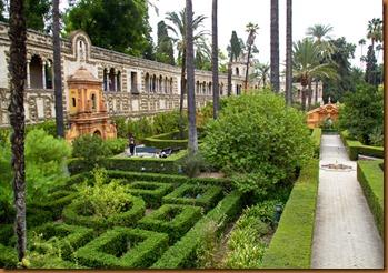 seville, alcazar gardens