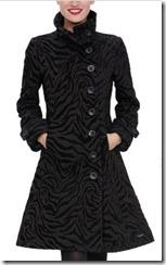 Desigual Coat Black