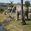 Fake Mammoth at La Brea Tar Pits