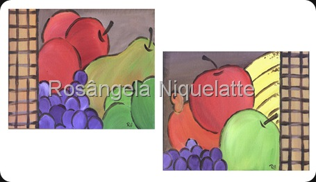 tela frutas