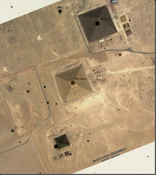 El Misterio de las Pirámides - Orión, las pirámides y la esfinge