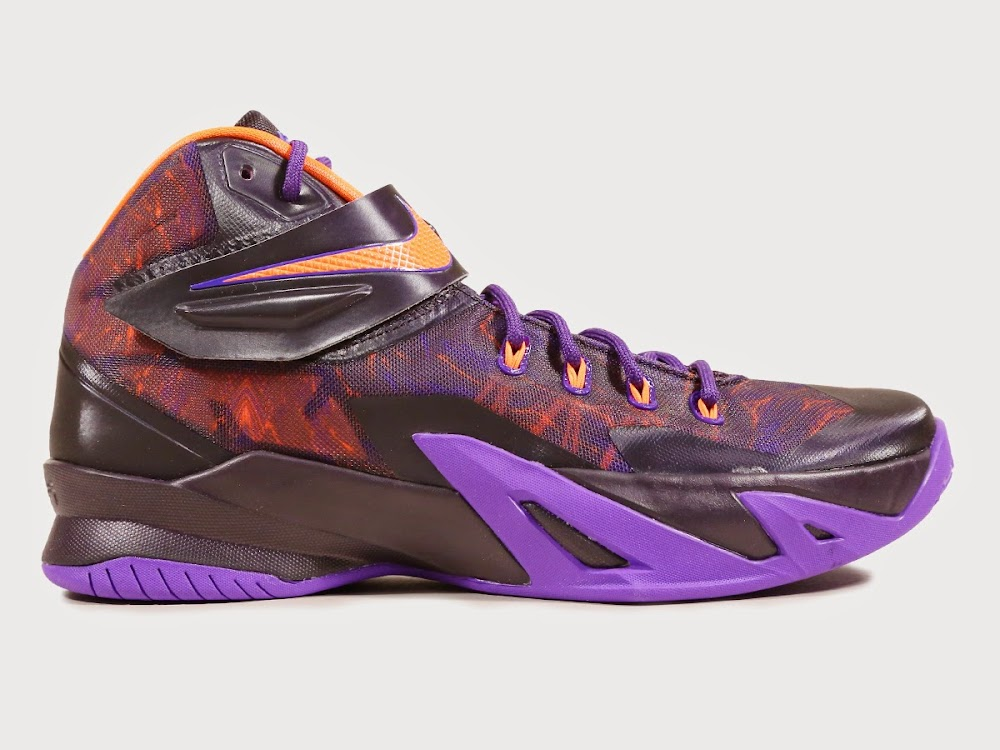 0a15e19444f Nike Releases Brand New Purple amp Hyper Crimson Soldier 88217s ... Men s  Nike Zoom LeBron Soldier 8 Basketball Shoes ...