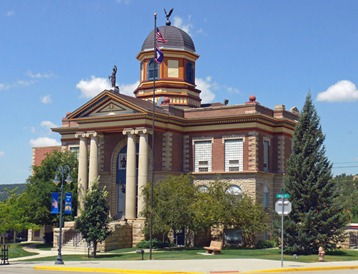 Newcastle SD Courthouse