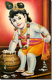 Lord Krishna - the enjoyer of sacrifice
