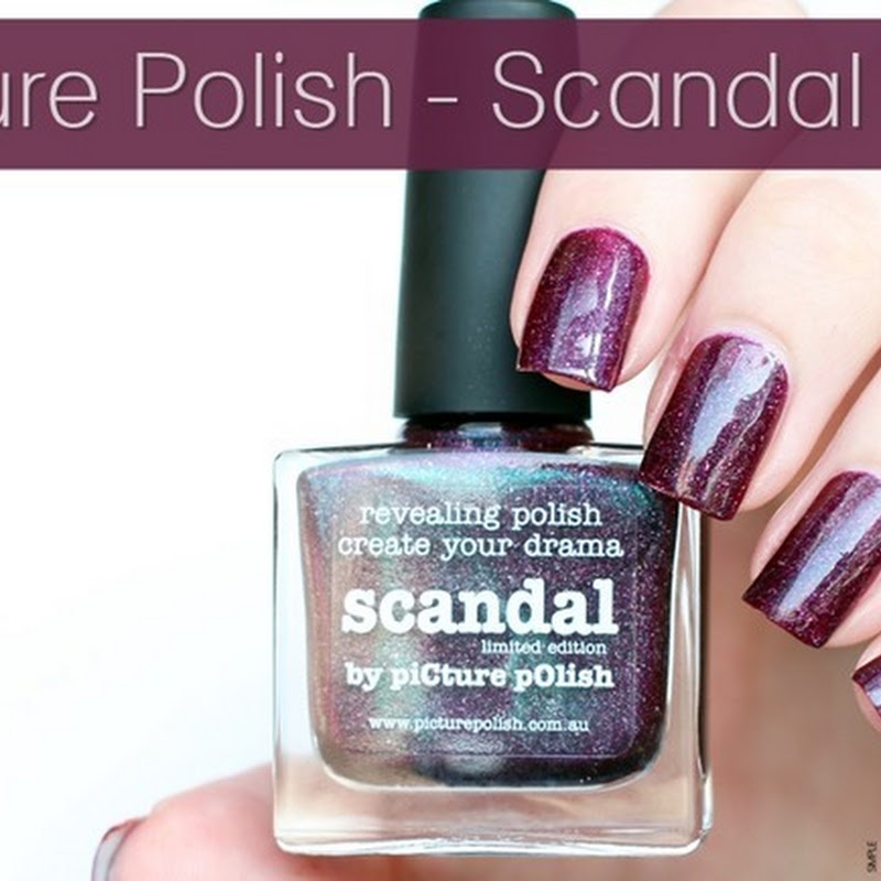 [Swatch] Picture Polish–Scandal (Vampy Chameleons LE)