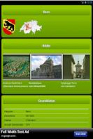 Screenshot of Schweizer Kantone