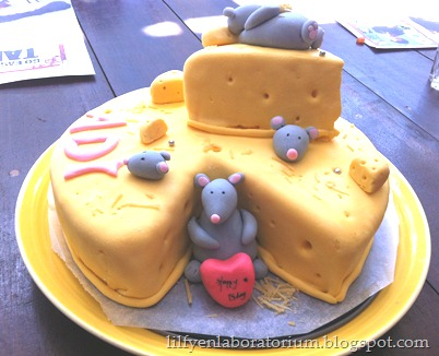 mouse cheese cake