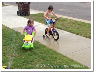 sprinkler bikes