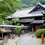 traditional house at Edo Wonderland in Nikko, Totigi (Tochigi) , Japan