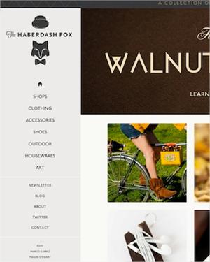 colección de sitios web con diseños de menús responsive design bastante ingeniosos