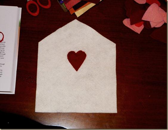 Felt Envelope Valentines 2