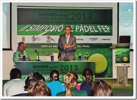 III Simposio de Pádel FEP 2014 en Palma de Mallorca del 22 al 25 de octubre.