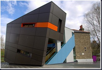 This Queen Mary's Graduate Facility, Mile End, London by the Surface