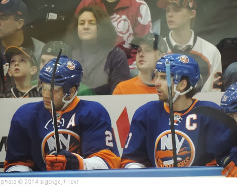 'Kyle Okposo and John Tavares' photo (c) 2014, slgckgc - license: http://creativecommons.org/licenses/by/2.0/