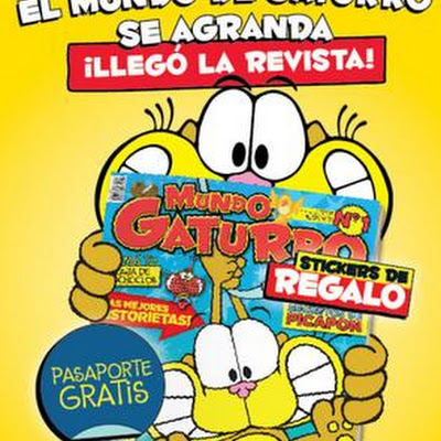 Revista gaturro desde el el bazar del espect culo for Revistas del espectaculo
