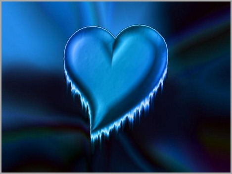 blue-heart-love-design